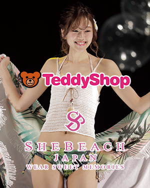 Teddy Shop×SHE BEACH